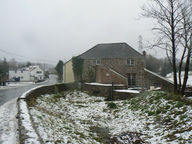 Little Mill millpond