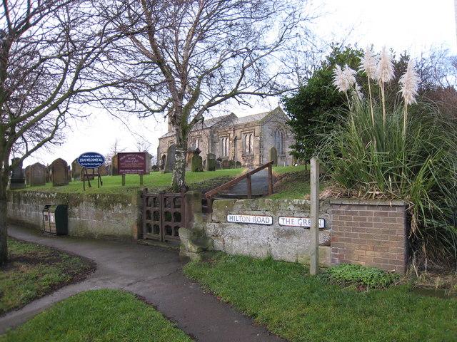 The church on Hilton Road, Seamer