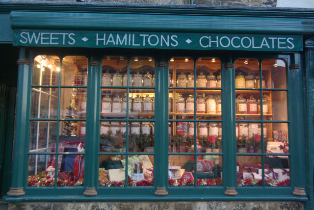 Hamilton's sweet shop, Burford