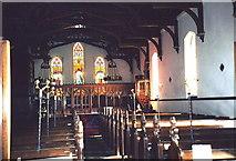 TQ7035 : Interior of Christ Church, Kilndown, Kent by nick macneill
