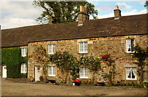 NY9650 : The Square, Blanchland by Michael Jagger