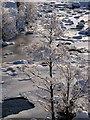 NC5700 : Ice on the River Shin by sylvia duckworth