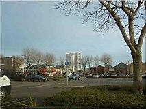 SE3032 : The car park at Costco members discount warehouse Leeds by Steve  Fareham