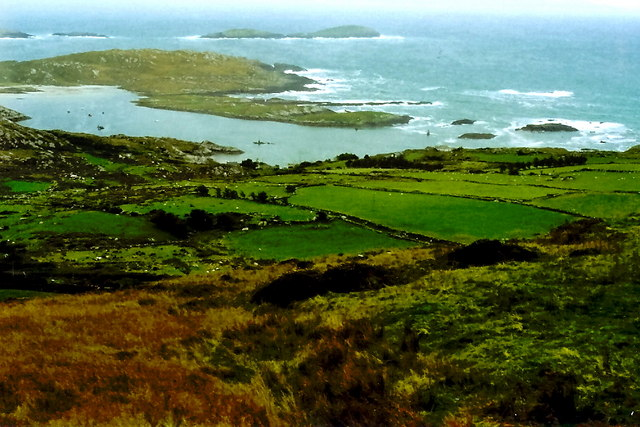 Ring of Kerry - Hillside and Derrynane Bay