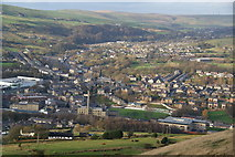 SD8122 : Rawtenstall from Whinberry Naze by Bill Boaden