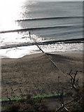 SZ1191 : Boscombe: waves around groyne 26 by Chris Downer