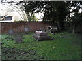SU9974 : A quiet corner of the churchyard at SS Peter and Andrew's, Old Windsor by Basher Eyre