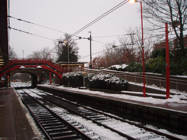 South Gosforth Metro station