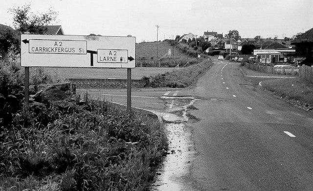 Pre-Worboys sign, Whitehead