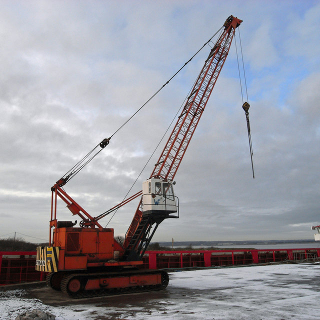 Priestman Crane at Old Ferry Wharf