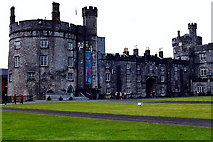 S5055 : Kilkenny Castle - Rear view of south wing by Joseph Mischyshyn