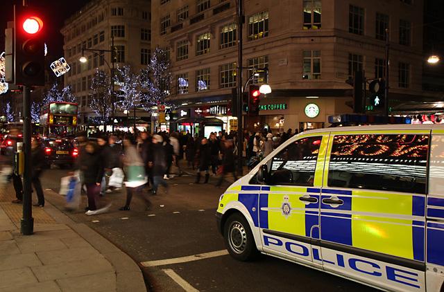 Oxford Street Crowds