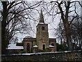 NZ2568 : Gosforth Parish Church through the trees by Philip Barker