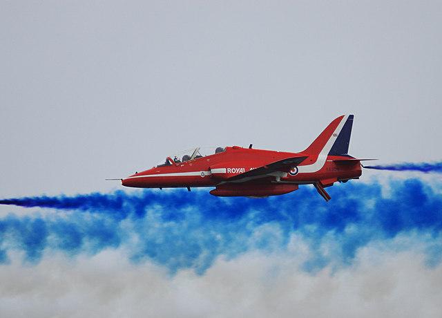 Bournemouth Air Festival 2009 - Red Arrow
