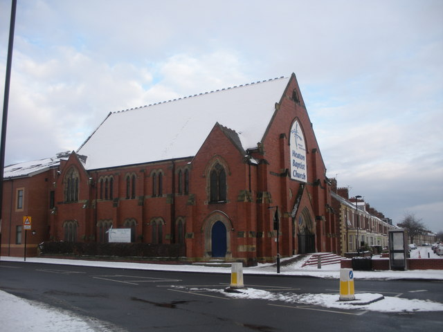 Heaton Baptist Church, Heaton Road