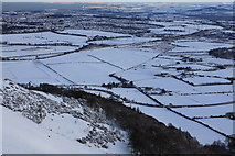 NT2466 : The Steep Side of Caerketton Hill by Calum McRoberts