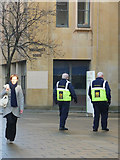 SE0925 : Halifax Town Centre Ambassadors outside Northgate House council offices  by Phil Champion
