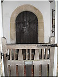 SU8518 : Looking into the church porch at St Mary, Bepton by Basher Eyre