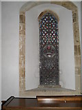SU8518 : Stained glass window on the north wall at St Mary, Bepton (1) by Basher Eyre