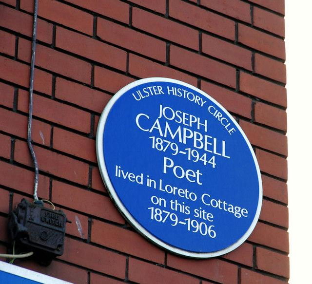 Joseph Campbell plaque, Belfast