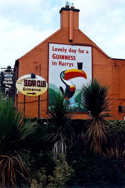 Kinnegad - Harry's of Kinnegad Restaurant sign