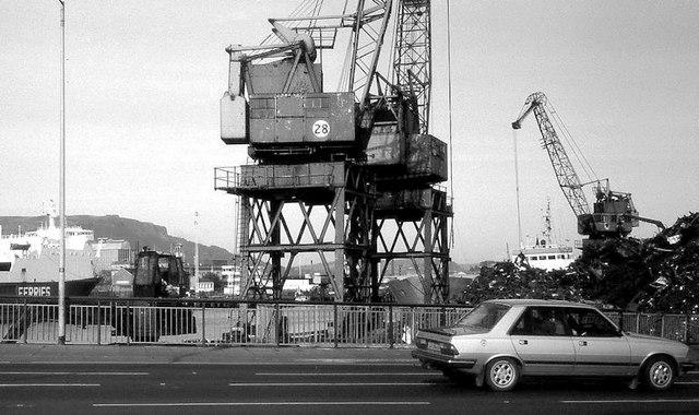 Harbour cranes, Belfast