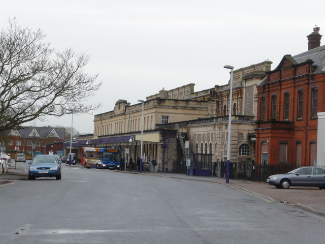 Exeter : Exeter St David's Railway Station
