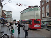 SX9292 : Exeter : High Street & Princesshay by Lewis Clarke