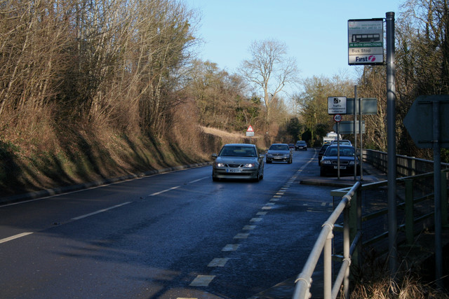 Bus Stop on A36
