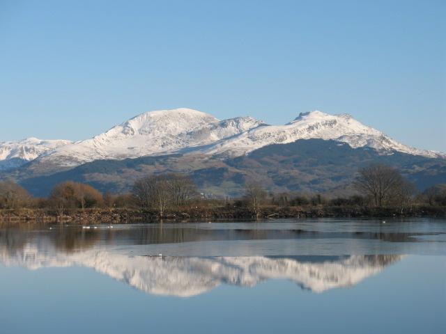 View across Llyn Bach
