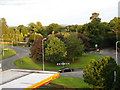 SJ8174 : Chelford Roundabout by sarah lumb