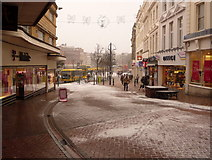 SZ0891 : Bournemouth: The Square from Old Christchurch Road by Chris Downer