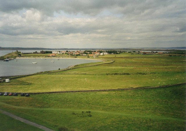 The Ouse from Lindisfarne Castle