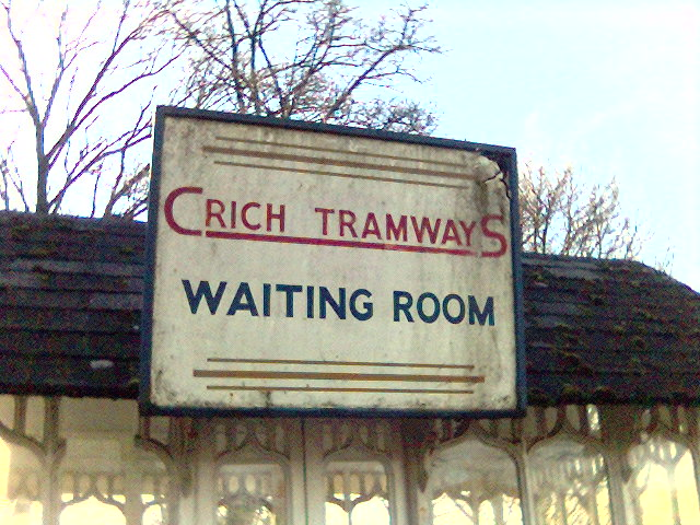Waiting Rooms at Crich Tramway Museum, Derbyshire