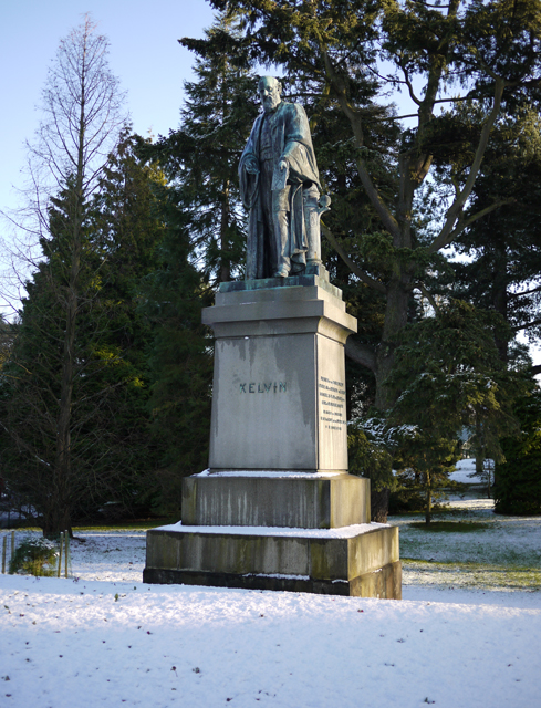 A cold Lord Kelvin