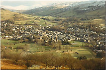 NY3704 : Ambleside from Loughrigg by Peter S