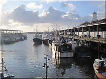NZ3668 : North Shields Fish Quay by Les Hull