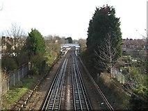 TQ1684 : Sudbury Town Underground Station by Nigel Cox