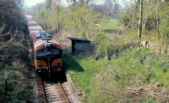 Tara mines train at Logher