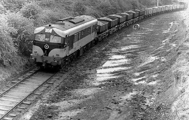 Kingscourt train near Tara Mines Jct