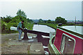 SP0692 : Descending Perry Barr lock flight, 1987 by Robin Webster