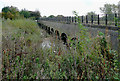 SK2626 : Aqueduct across the River Dove near Stretton, Staffordshire by Roger  Kidd