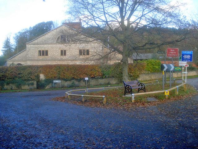 Entrance to Hall Lane
