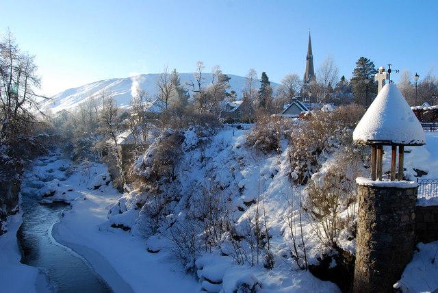 Deep Freeze in Braemar