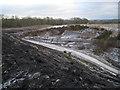 SX8476 : Track into Newbridge ball clay quarry by Robin Stott