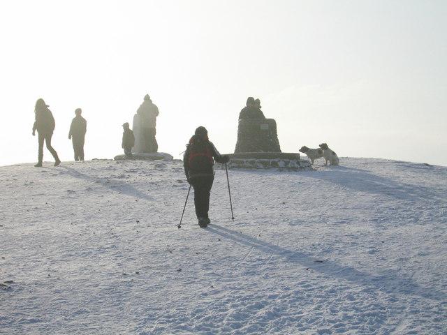Top of the Wrekin (407m)