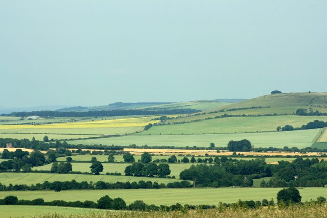 Liddington Castle from Barbury Country Park