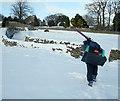 NY9913 : Heading for the apres-ski by Andy Waddington