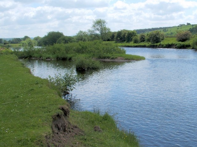 The River Clyde near Lower Carbarns