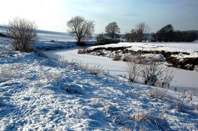 Frozen Water of Girvan